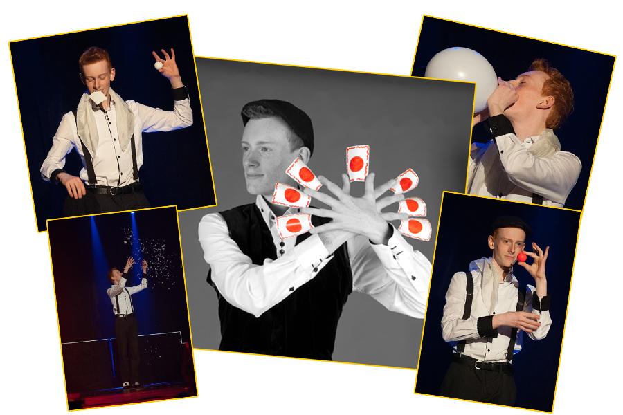 Niek takens Dutch Champion of Magic 2014