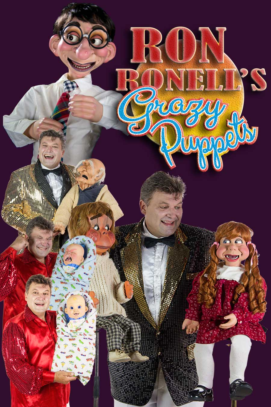 ron ronell crazy puppets