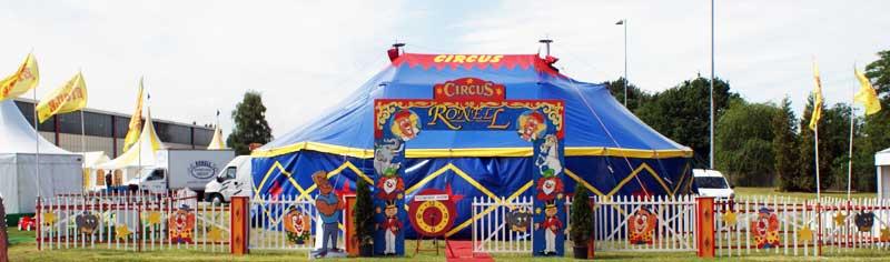 compleet circus huren