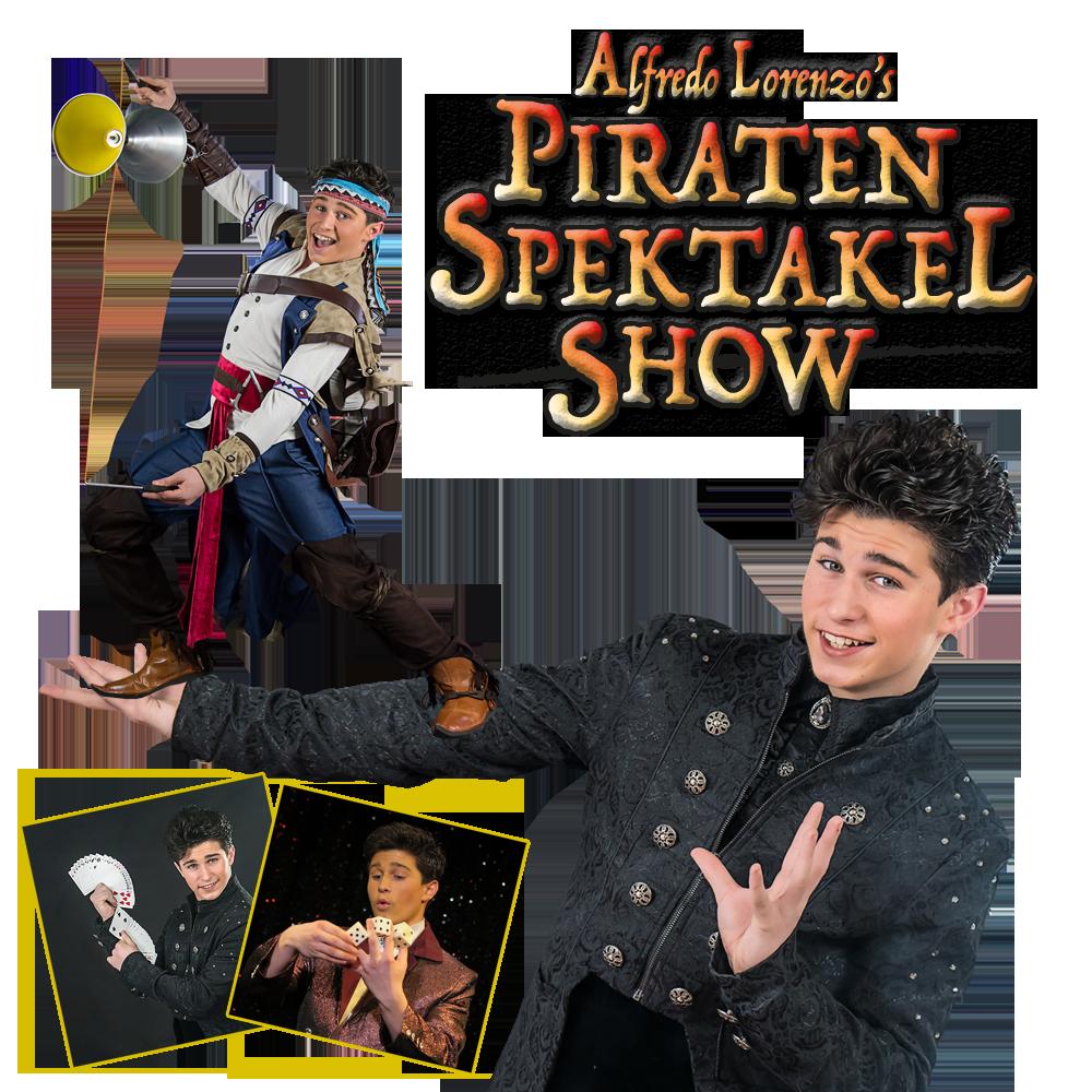 Alfredo Lorenzo spektakel piratenshow