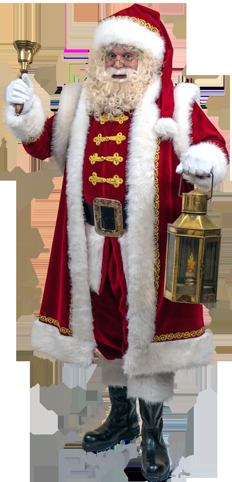 Traditionele Amerikaanse Kerstman Uniek in Nederland!