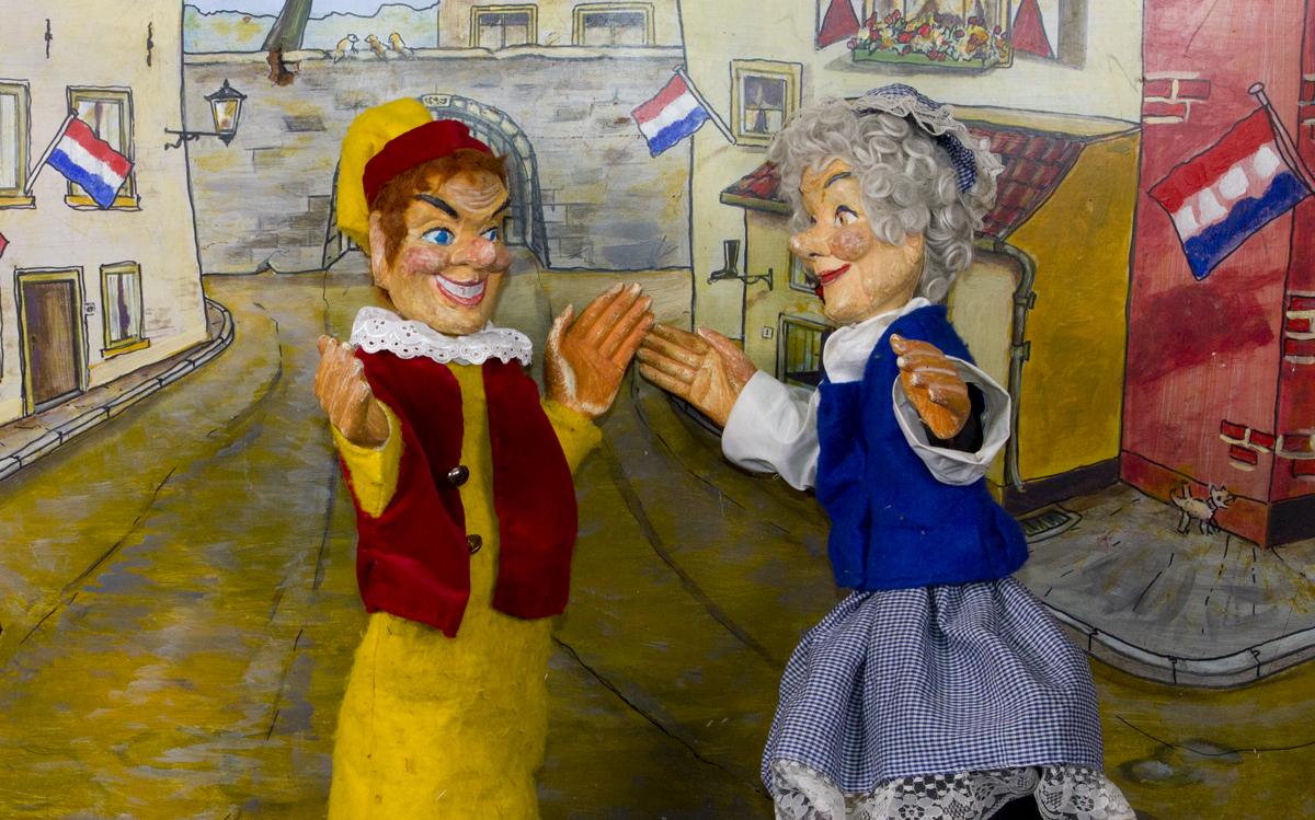 Jan Klaassen en katrein