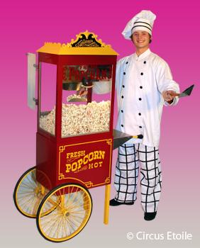 Popcorn Suikerspin poffertjes